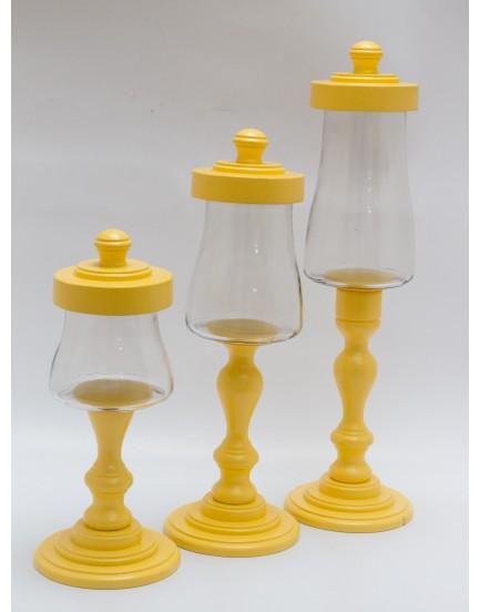 Trio de Baleiros  amarelo