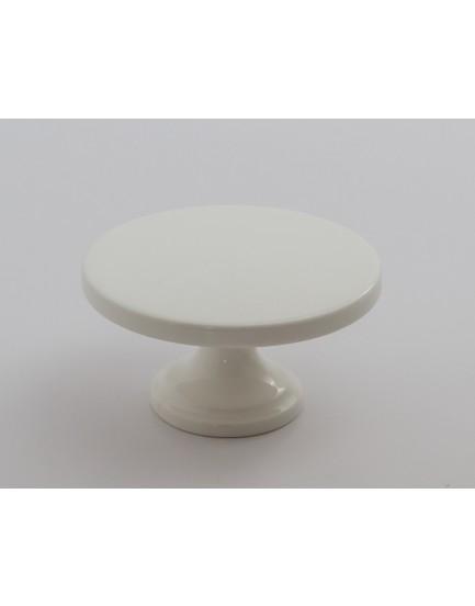 Suporte Branco porcelana para 1  cupcake