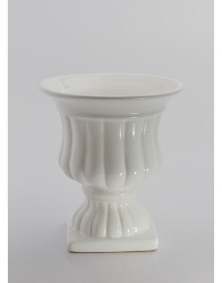 Vaso grego branco Tam M