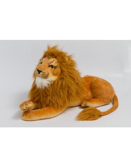 Leão Deitado pelúcia tam P