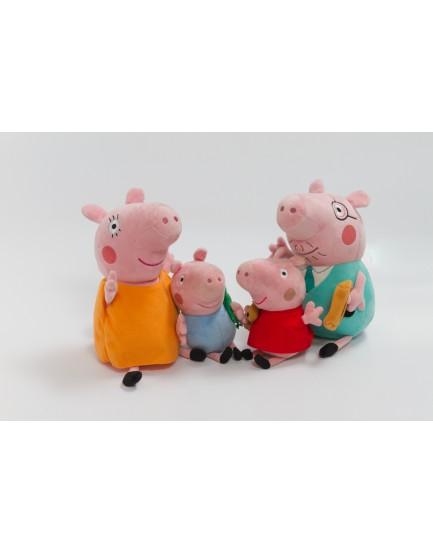 Personagens peppa pig pelúcia