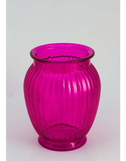 Vaso de vidro Pink
