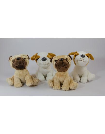 Kit com 4 cachorrinhos  Pug