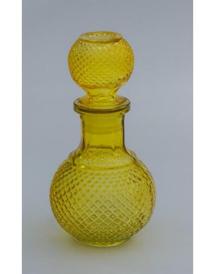 Garrafa de vidro Amarelo