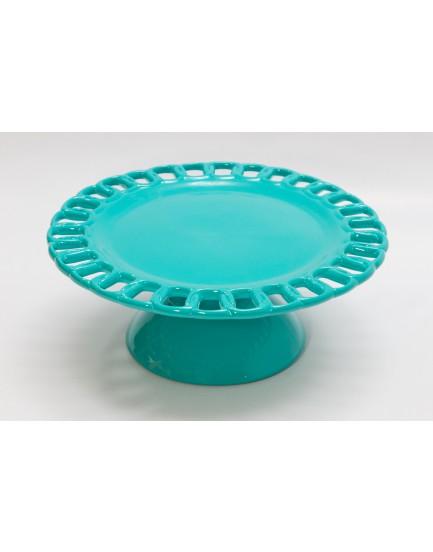 Prato elo azul Tiffany  M