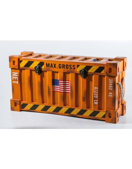 Caixa container Laranja