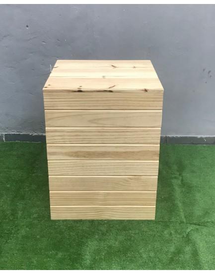 Cubo de Pinus Tam G