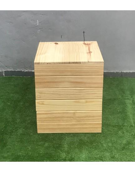 Cubo de Pinus Tam M