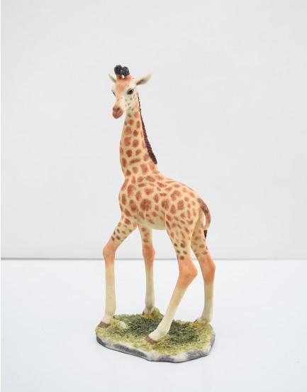 Girafa Decorativa de Resina