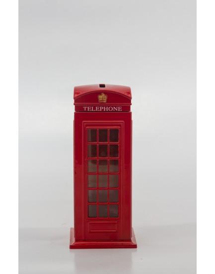 Cabine Telefônica Pequena Metal
