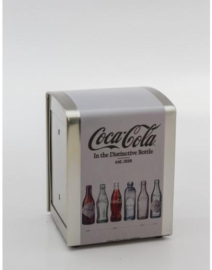 Porta Guardanapo Coca-cola Branco