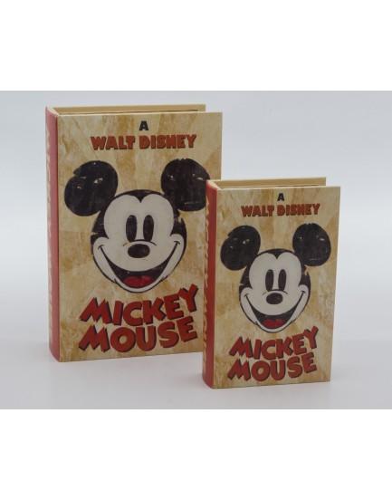 Duo de Livros Mickey Mouse
