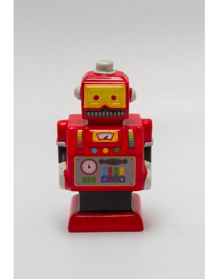 Robô de cerâmica Vermelho