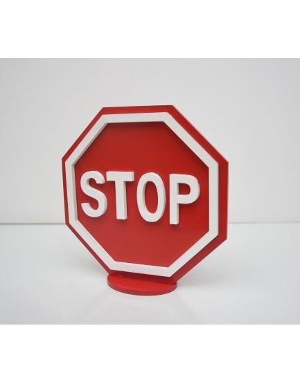 Placa Decorativa STOP
