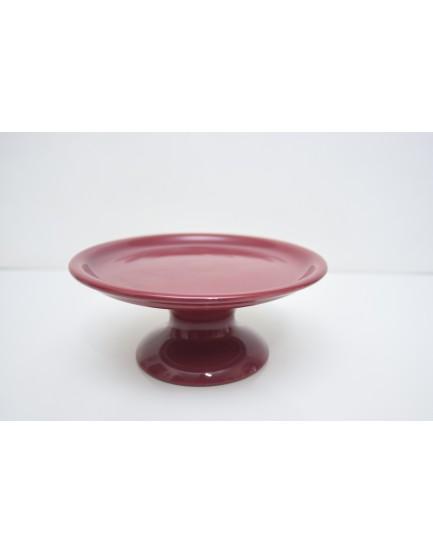 Prato Liso cerâmica Marsala Tam M