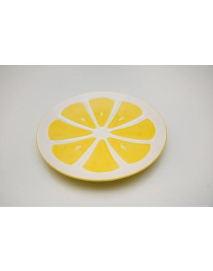 Prato Decorativo Limão