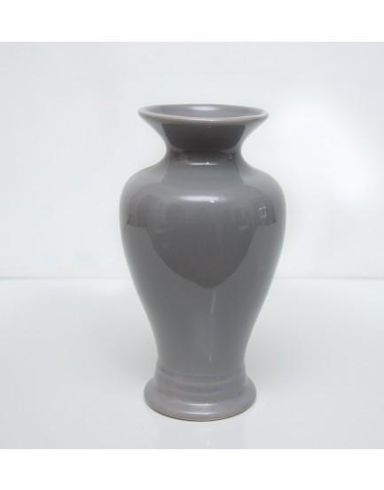 Vaso Apollo Cerâmica Cinza