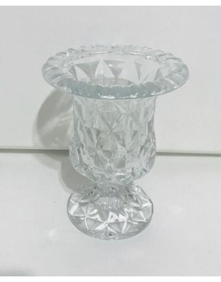 Vaso de vidro Diamond Tam PP