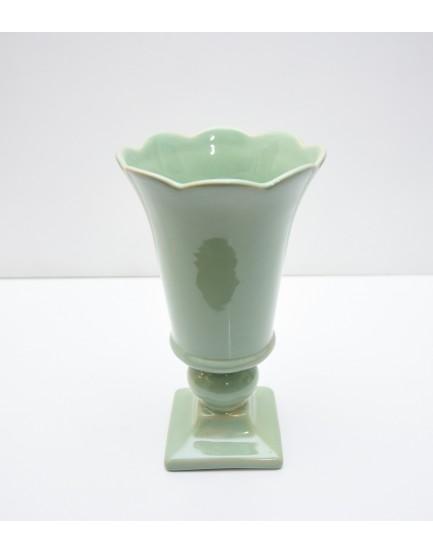 Vaso taça Roma Verde Celadon