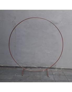 Painel circular Cobre
