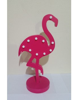 Flamingo de mdf Luminoso