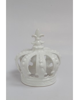 Coroa Porcelana Branca Tam G