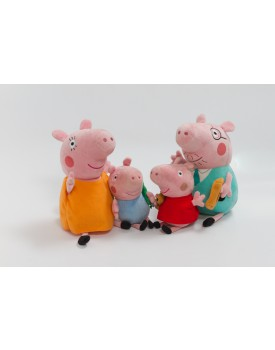 Personagens peppa pig pelúcia