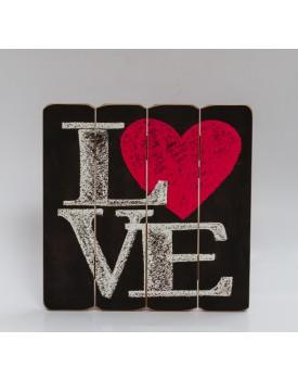 Placa de mdf love