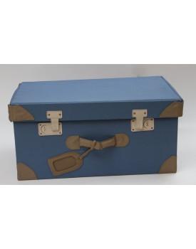 Caixa Mala Desmontável azul