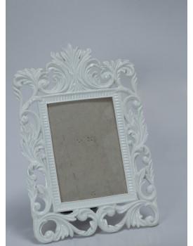 Porta Retrato Branco Arabesco Luis XV