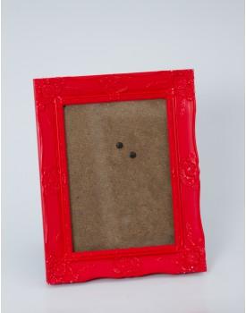 Porta Retrato Vermelho Tam M
