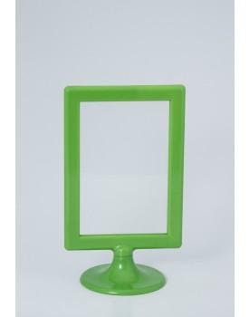 Porta Retrato Plástico com pé - verde