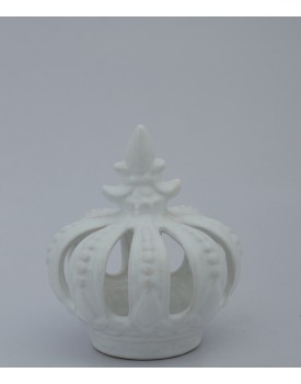 Coroa Branca Porcelana Tam P