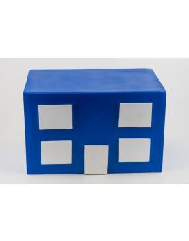 Cubo Prédio Azul