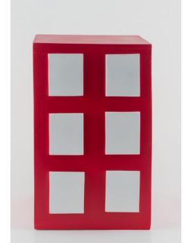 Cubo Prédio Vermelho