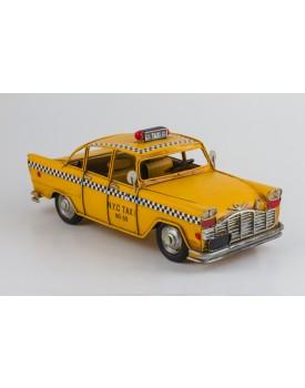 Táxi de metal Vintage