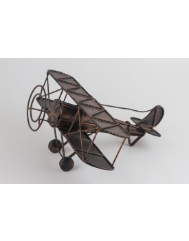 Avião de Metal Vintage