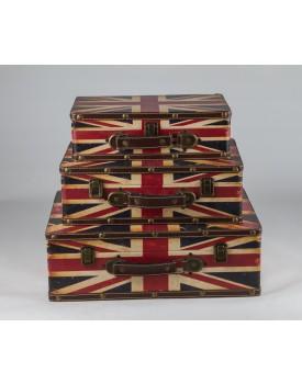 Trio de  maletas Londres