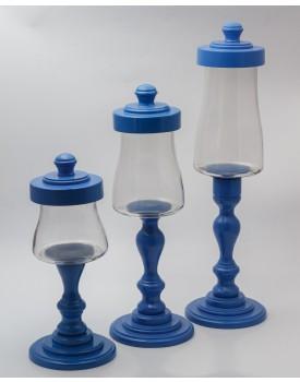 Trio de Baleiros Azul