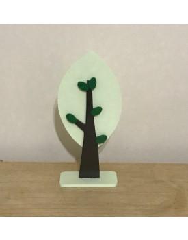 Árvore Decorativa Verde Clara tam P