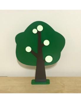 Árvore Decorativa Verde Escura  tam G