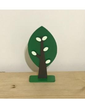 Árvore Decorativa Verde Escura  tam P