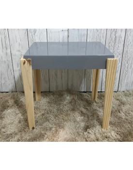 Mesa de Canto cinza retangular  Tam M