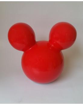 Cabeça Mickey Vermelha Tam M