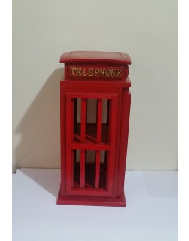 Cabine Telefônica de madeira Tam G