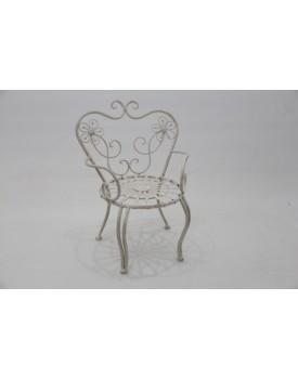 Cadeira de ferro Vintage Tam M