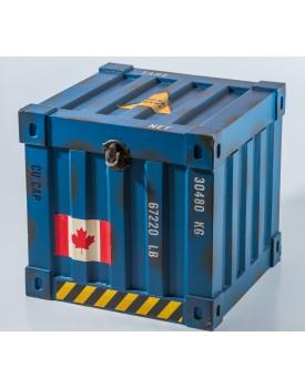 Caixa Container quadrada azul