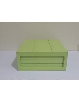 Mini Caixa rústica Verde Claro