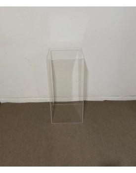 Cubo de Acrílico Tam G - 80 cm de altura x 37 cm comprimento
