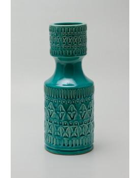 Garrafa Cerâmica Rústica Azul